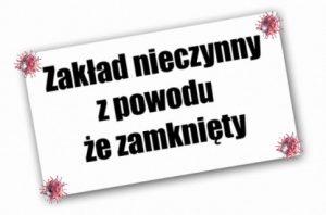 Read more about the article Przerwa w działaniu.